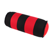 Black Red Cylinder Design Neck Head Massage Support Memory Pillow Pad for Car