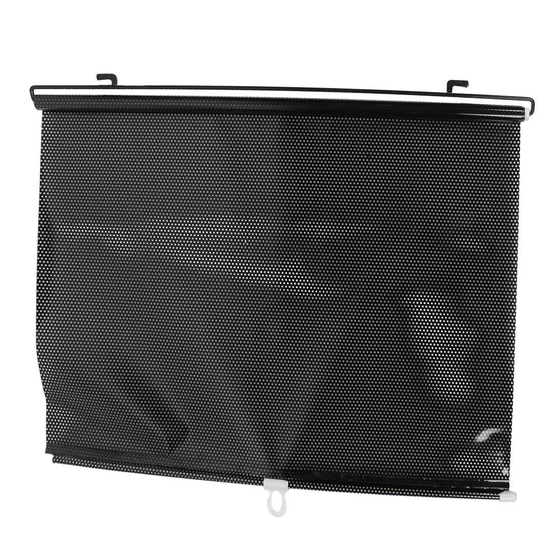 125cm x 58cm Black Clear Roll up Reflective Sun Shade for Car Window