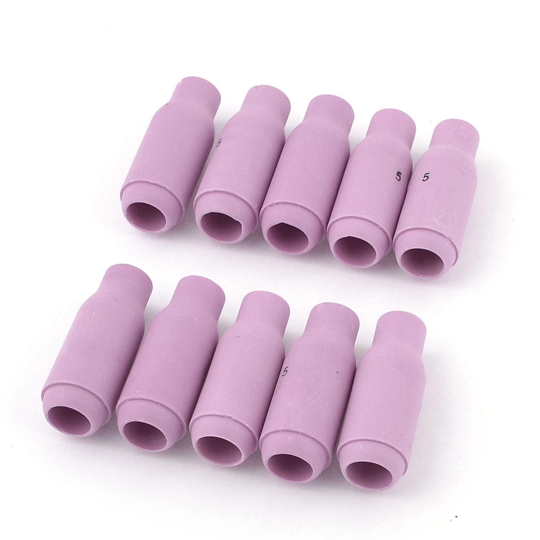 10 Pcs 8mm Orifice Welding Ceramic Nozzles Repair Parts