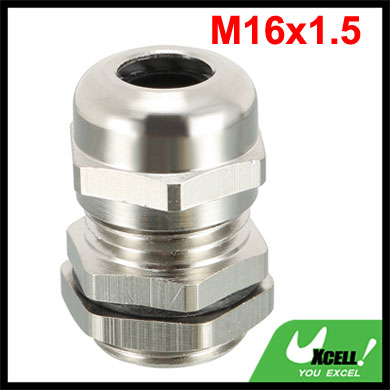 Metal Waterproof Cable Gland Connector Fastener Head M16x1.5