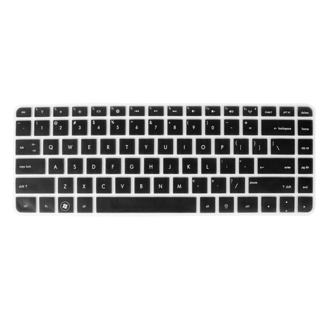 Laptop Keyboard Protector Protective Film Black Clear for HP 431/430/DV4/4230S