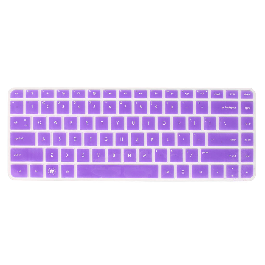 Soft Notebook Keyboard Protector Film Purple Clear for HP G4/431/430/DV4/4230S