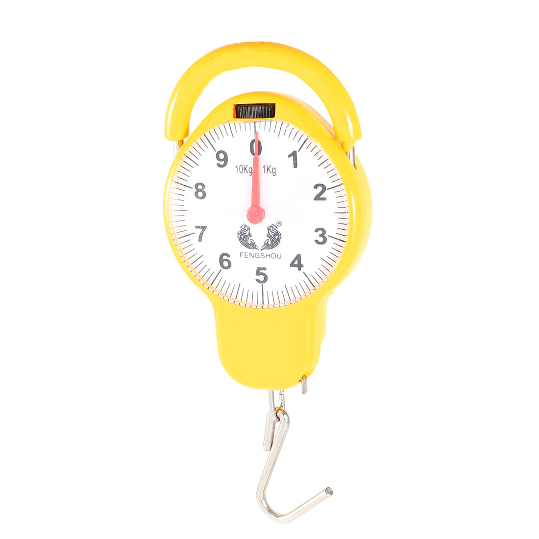 10Kg Arabic Number Display Portable Scale Electronic Balance Yellow
