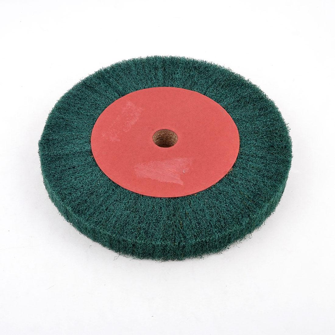 "8.1""x0.8""x1"" Green Nylon Wood Abrasives Slice Grinding Wheel"