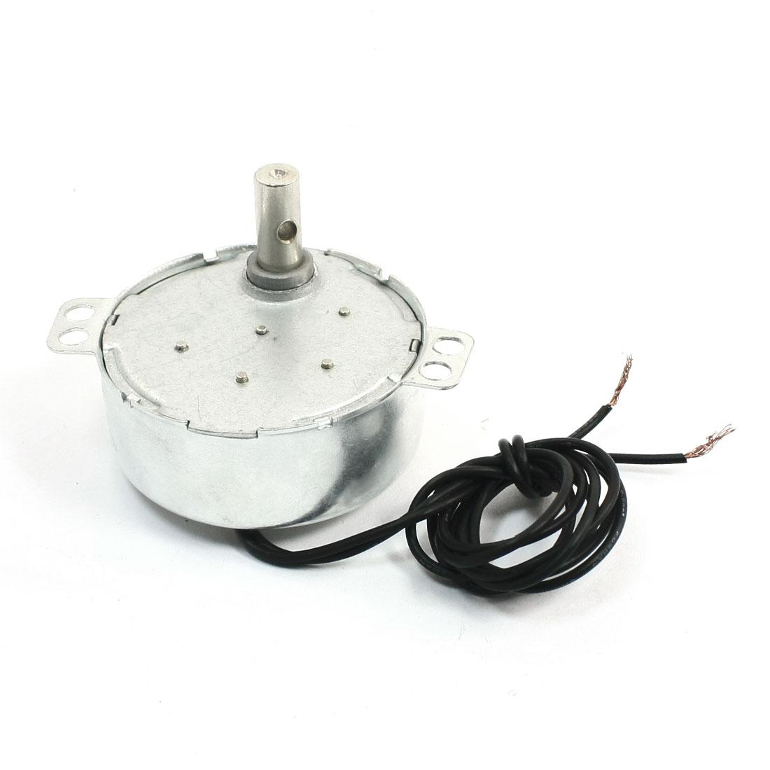 AC 220V-240V 4W 5-6RPM CCW/CW Rotary Synchron Clock Electric Motor