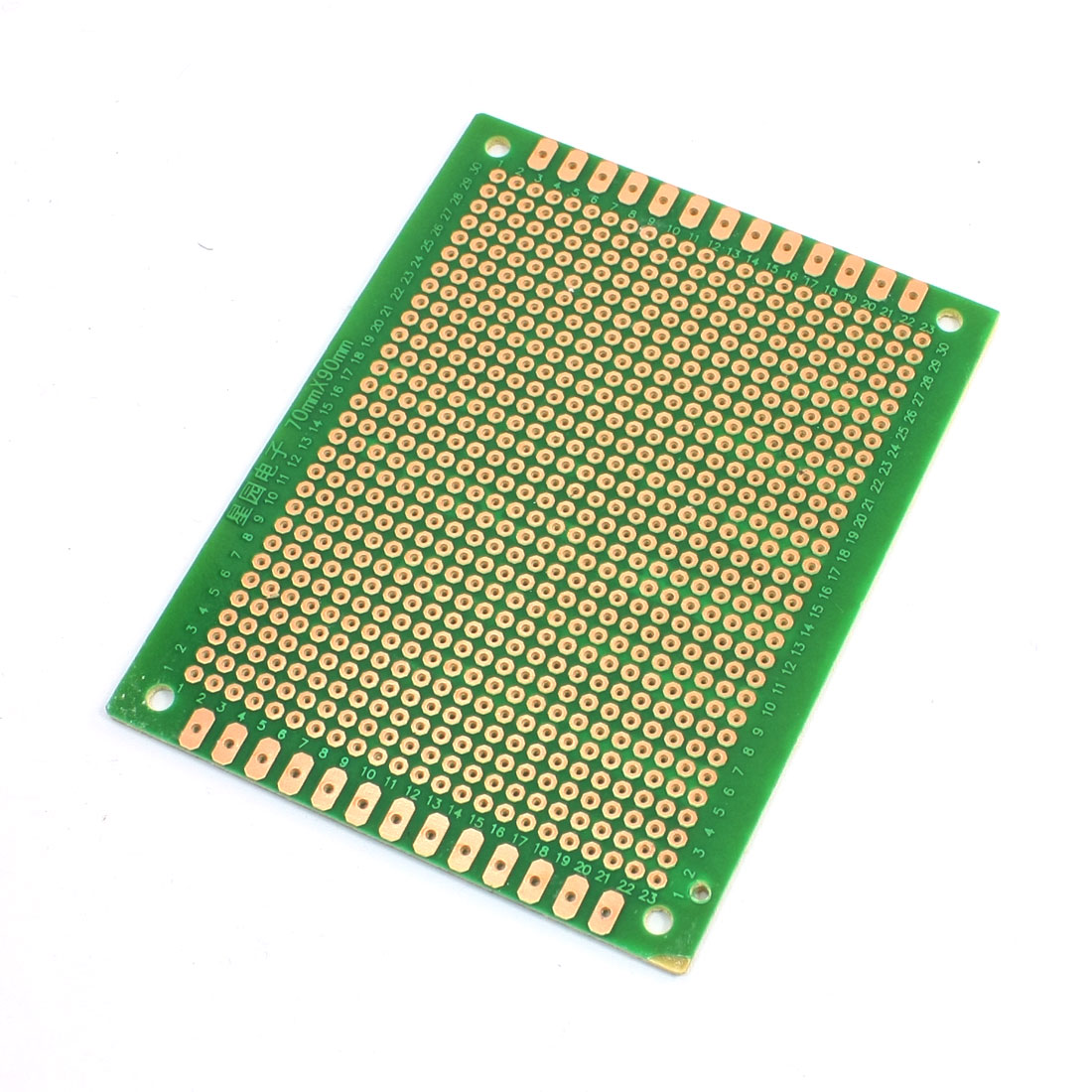 70mm x 90mm Universal Prototype PCB Matrix FR-4 Fiber Circuit Board
