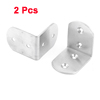 2Pcs Stainless Steel Right Angle Corner Brace Joint Bracket 50x50x37mm