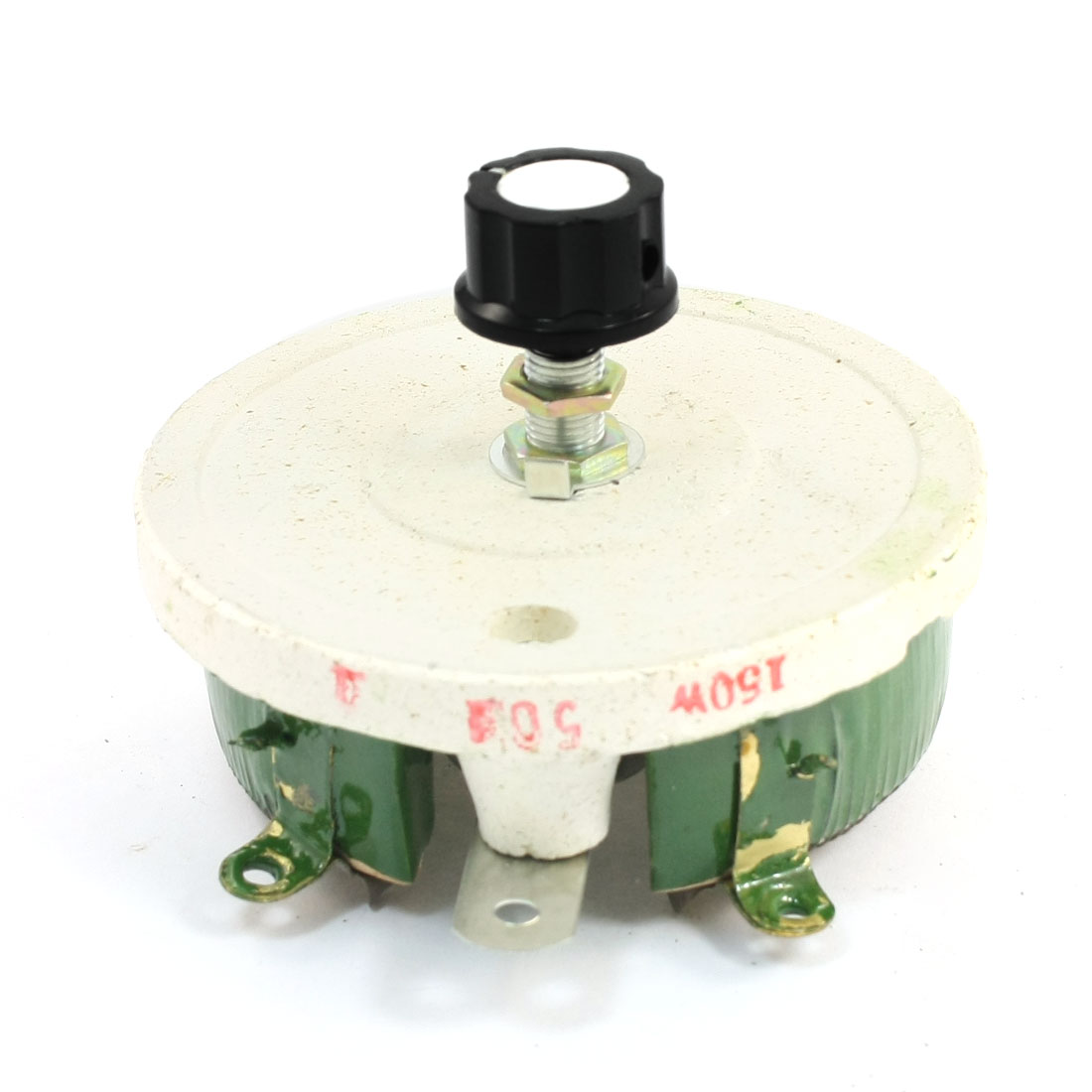 150W 50ohm Ceramic Wirewound Potentiometer Taper Pot Resistor Rheostat