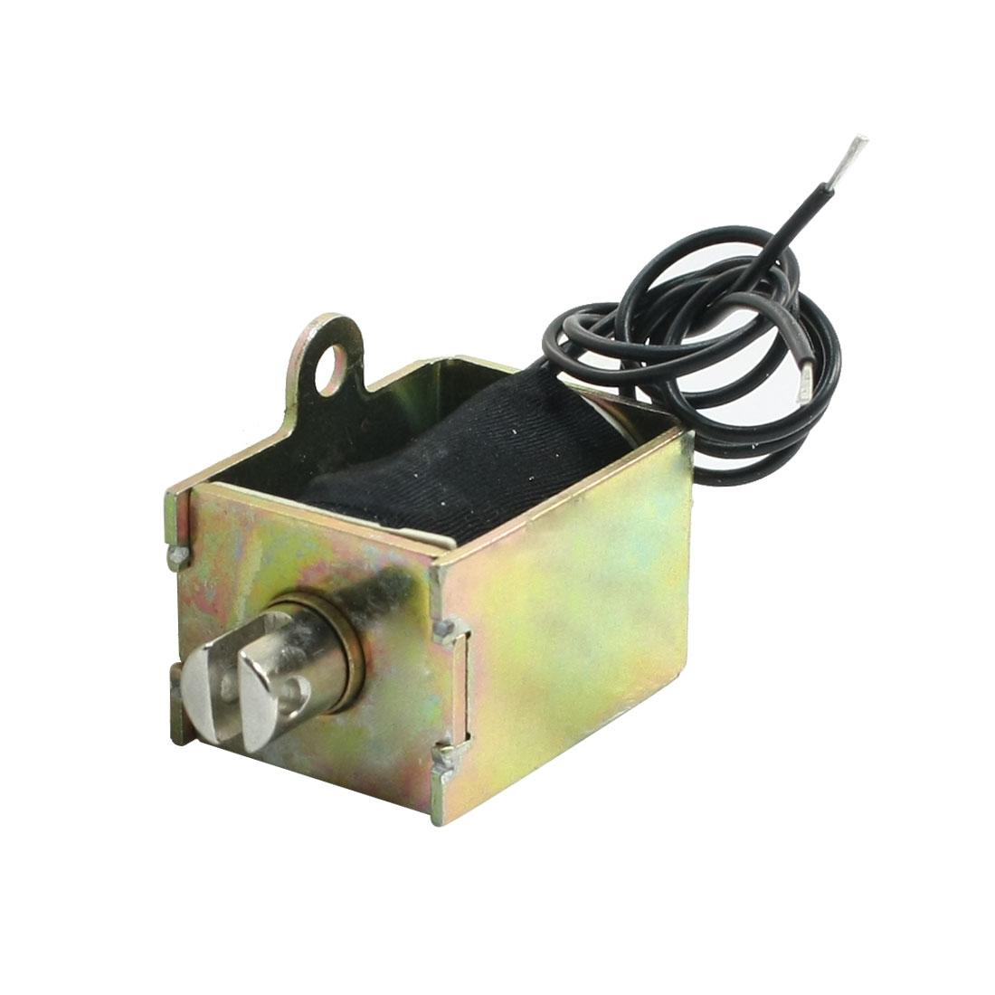 Pull Type AC 220V 121W 6mm Stroke 4.8Kg Force Solenoid Electromagnet