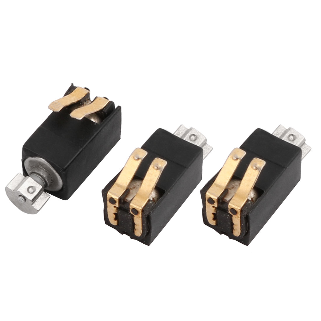 3 Pcs 1400RPM Speed 3V Mobile Phone Micro DC Coin Vibration Motor
