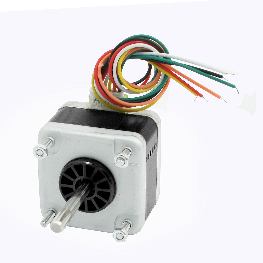 1000RPM 0.5A Two Phase 6 Wire 5mm Drive Shaft Stepper Stepping Motor