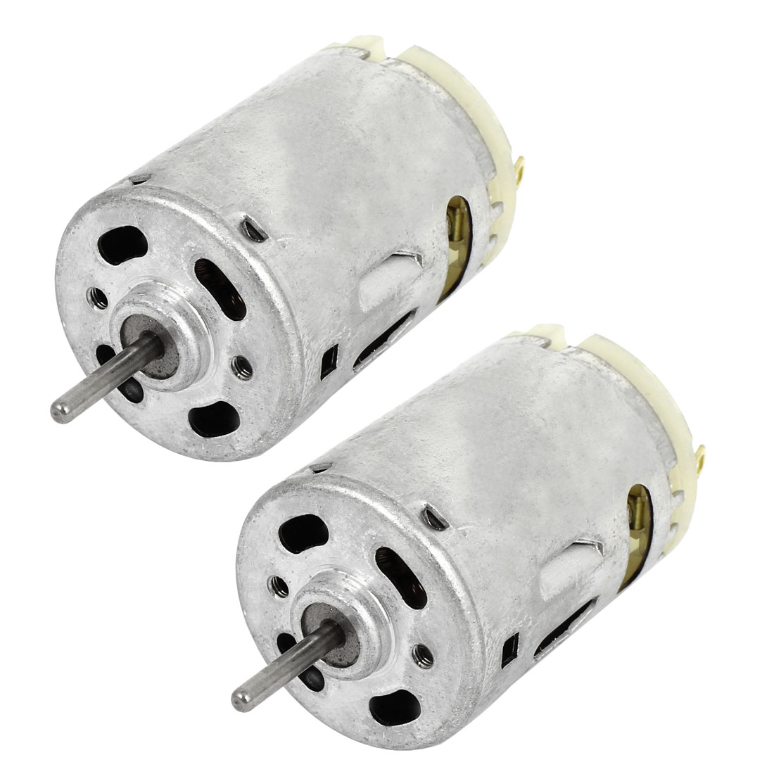 2Pcs 2mm Shaft 28mm Body Dia. Magnetic Motor DC12V 25000RPM for Massager