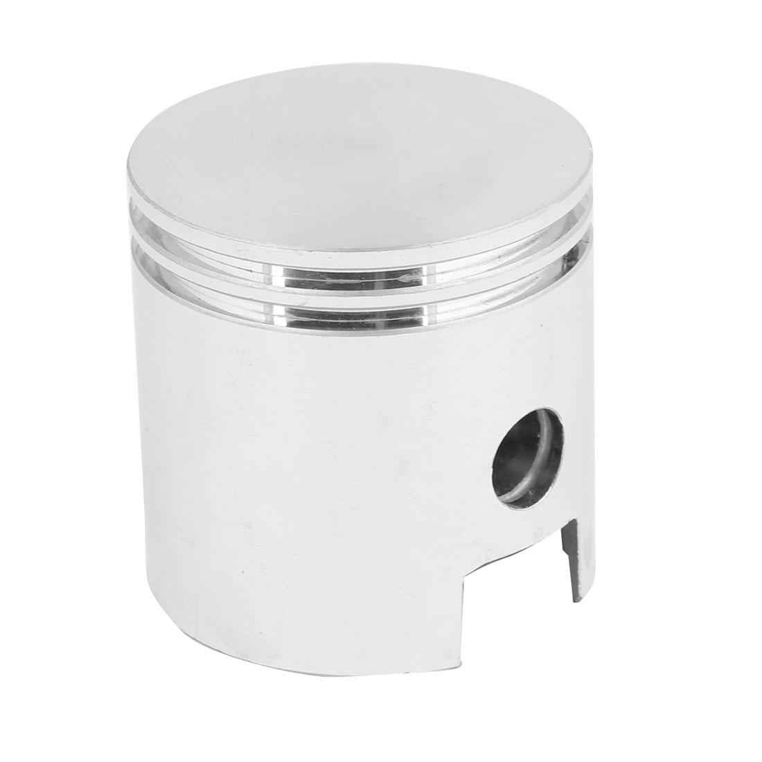 Silver Tone Aluminum Alloy 40mm Diameter Engine Air Compressor Piston