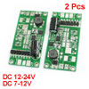 2pcs LED Light Lamp Power Driver Transformer DC 12-24V to 7-12V 10W