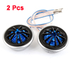 "DC 12V 130W 2.0"" Dia Audio System Dome Tweeter 2 Pcs for Car"