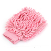 Car Van Home Washing Single Side Microfiber Mitt Glove Cleaning Tool