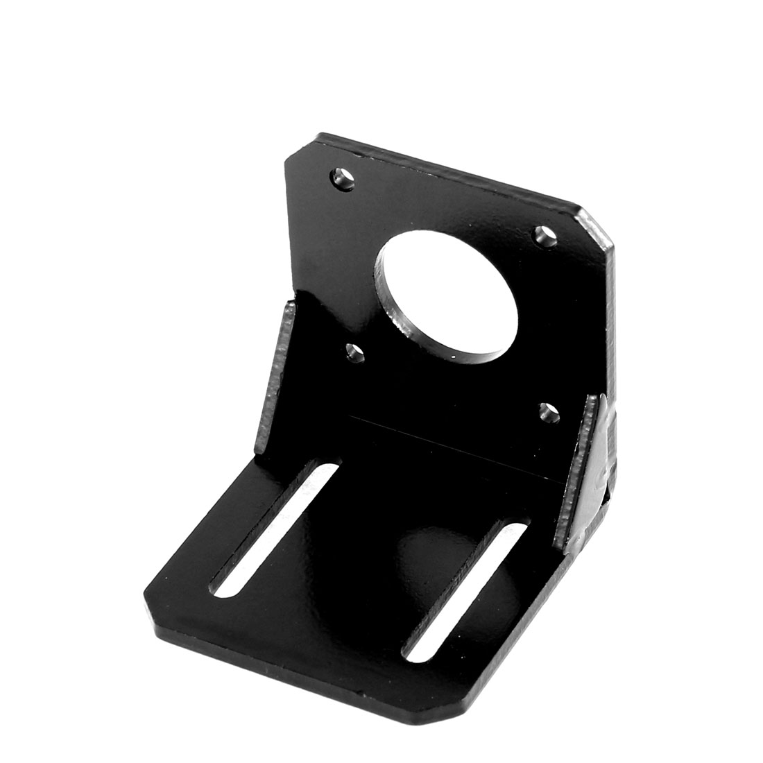 57 Series Step Stepper Motor Metal Shell Mounting Bracket Rack Black