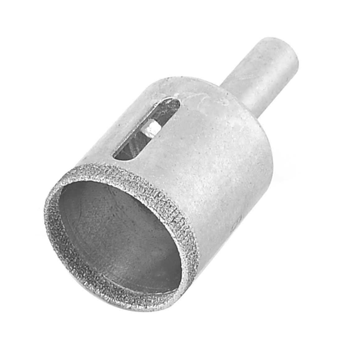 Round Shank 26mm Dia Glass Tile Ceramic Hole Saw Drilling Tool