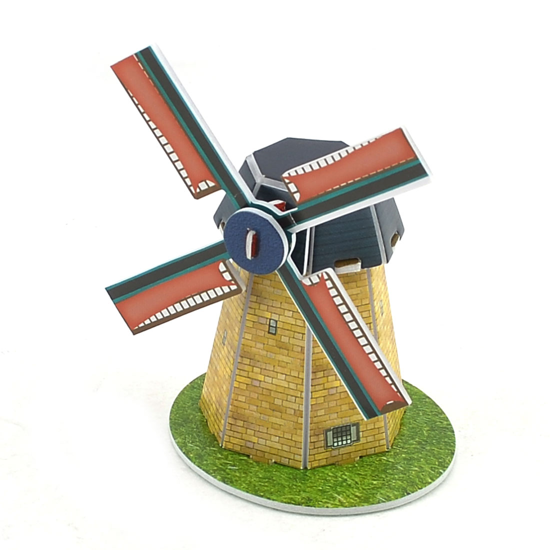 Colorful 3D Holland Windmill Model Foam Construction Kit Puzzle Toy