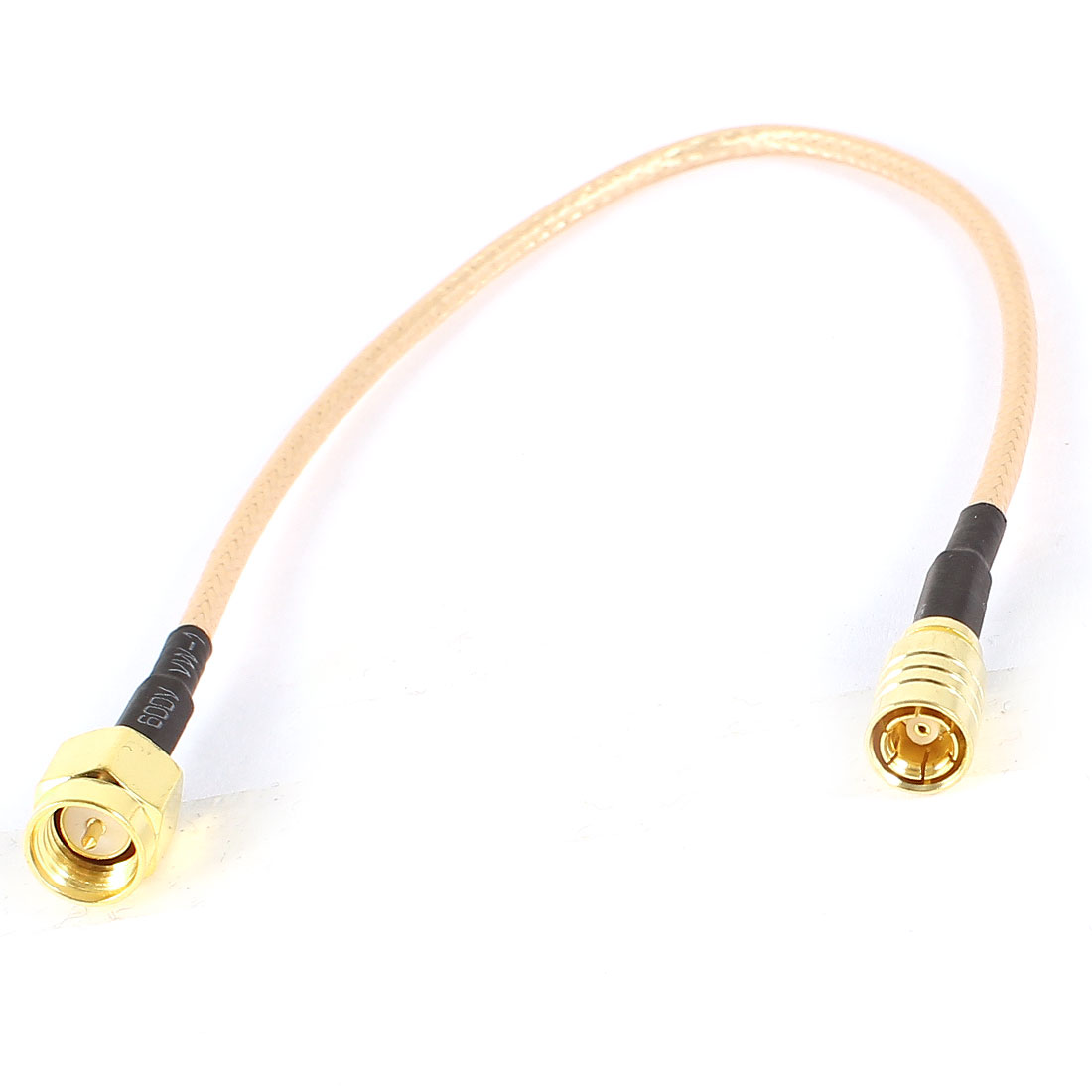 RG316 Coaxial Jumper Cable SMA Male to SMB Female Jack Adapter 8.5 Inches 21.5cm