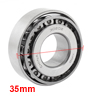 30202 Single Row Tapered Roller Bearing 15mm x 35mm x 12mm