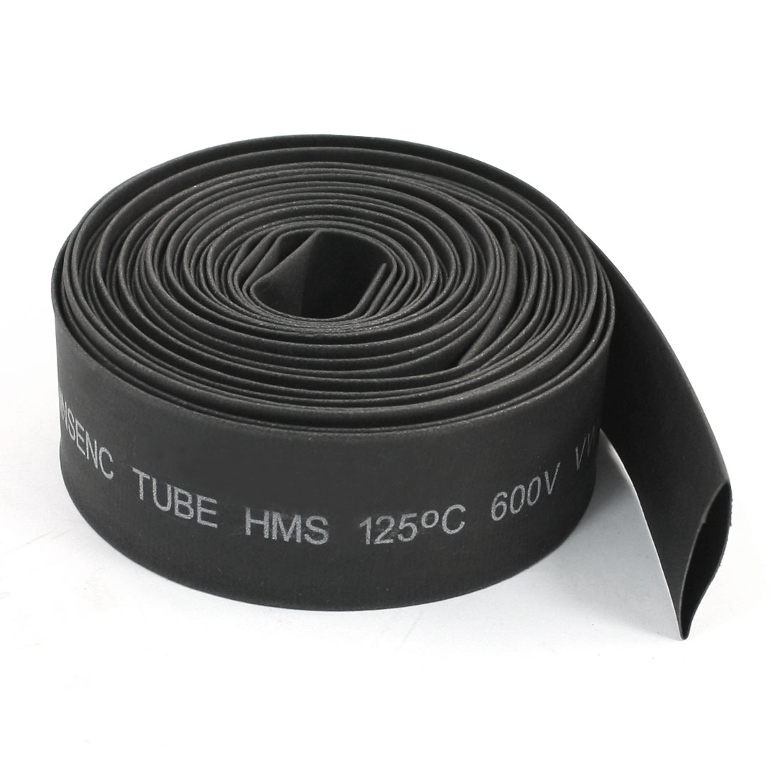 Gray Heat Shrinkable Tubing Shrink Tube 18mm 9mm 5M 16.4ft 600V 125C