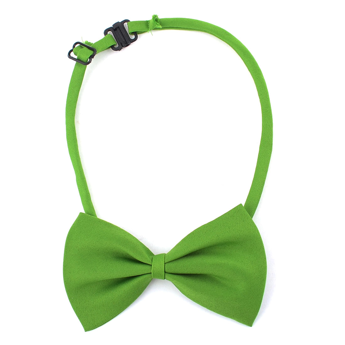 2 x Green Adjustable Belt Pet Dog Doggie Collar Bowtie Bow Ties