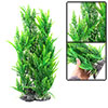 "Green Reed Grass Aquarium Emulational Plastic Plant Decor 15.7"" High"