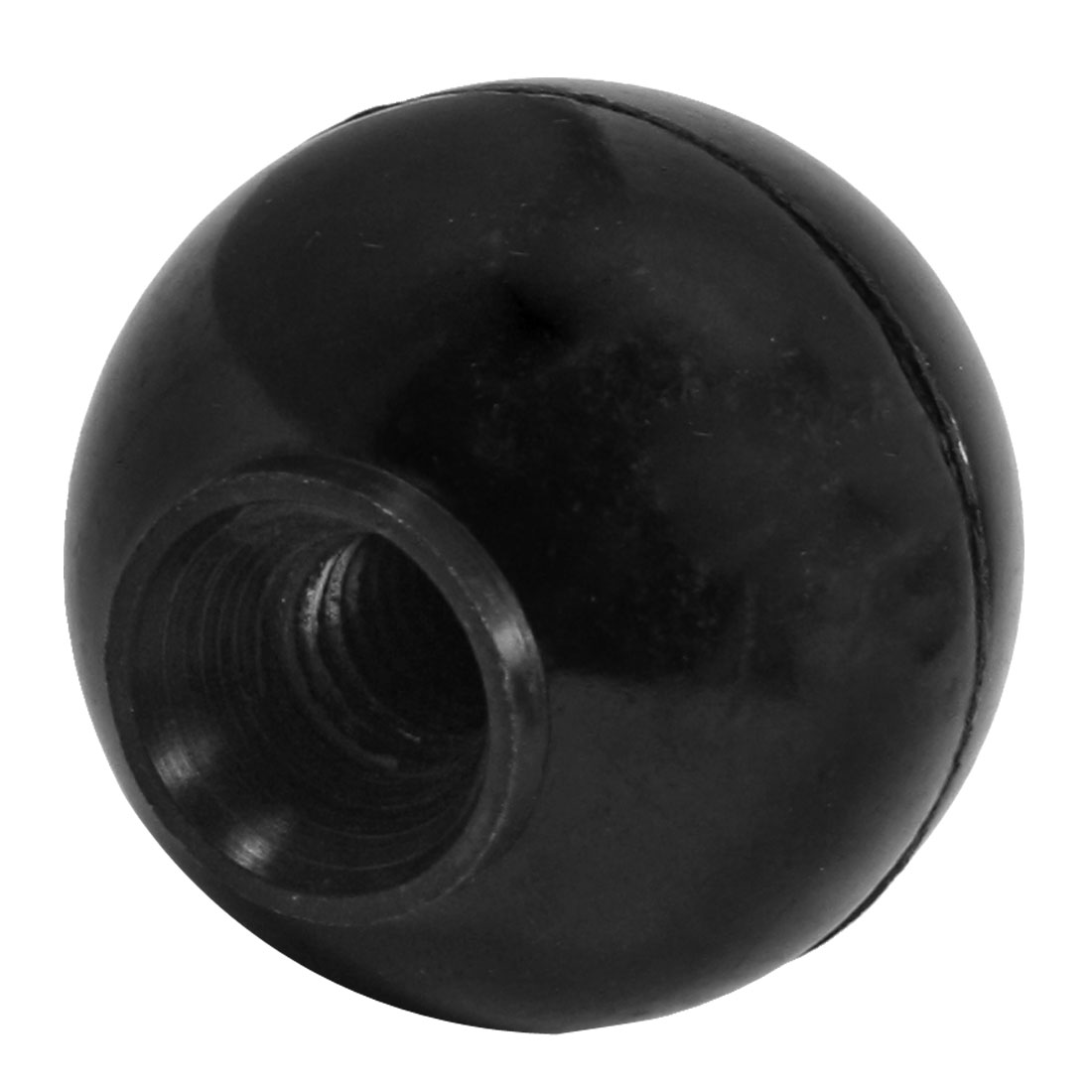 Threaded Knob Plastic Machine Operation Handle Ball 45mm Dia 10mm Bore