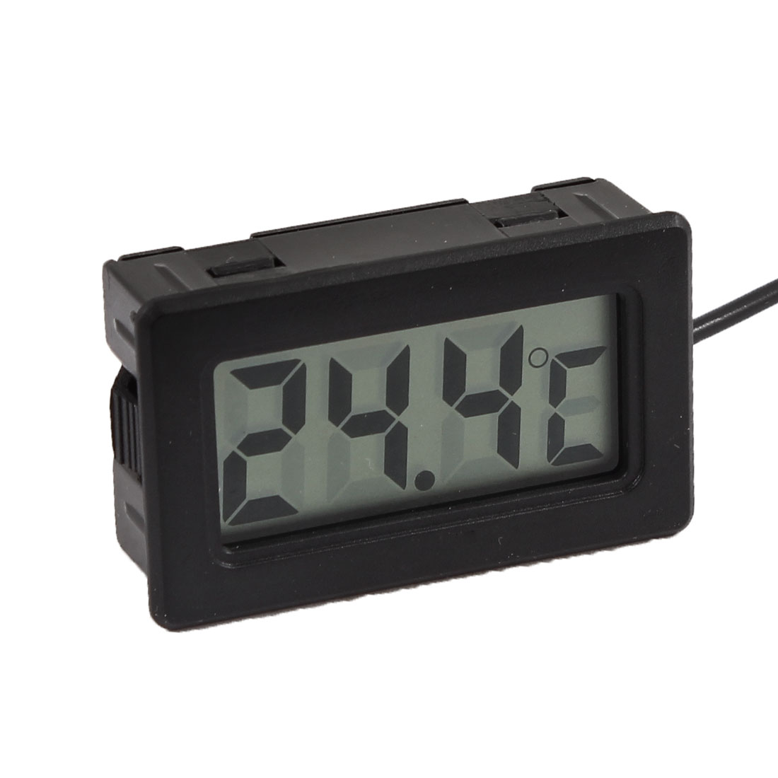 Display Cabinet LCD Display Digital Thermometer w 3.3Ft Long Cable