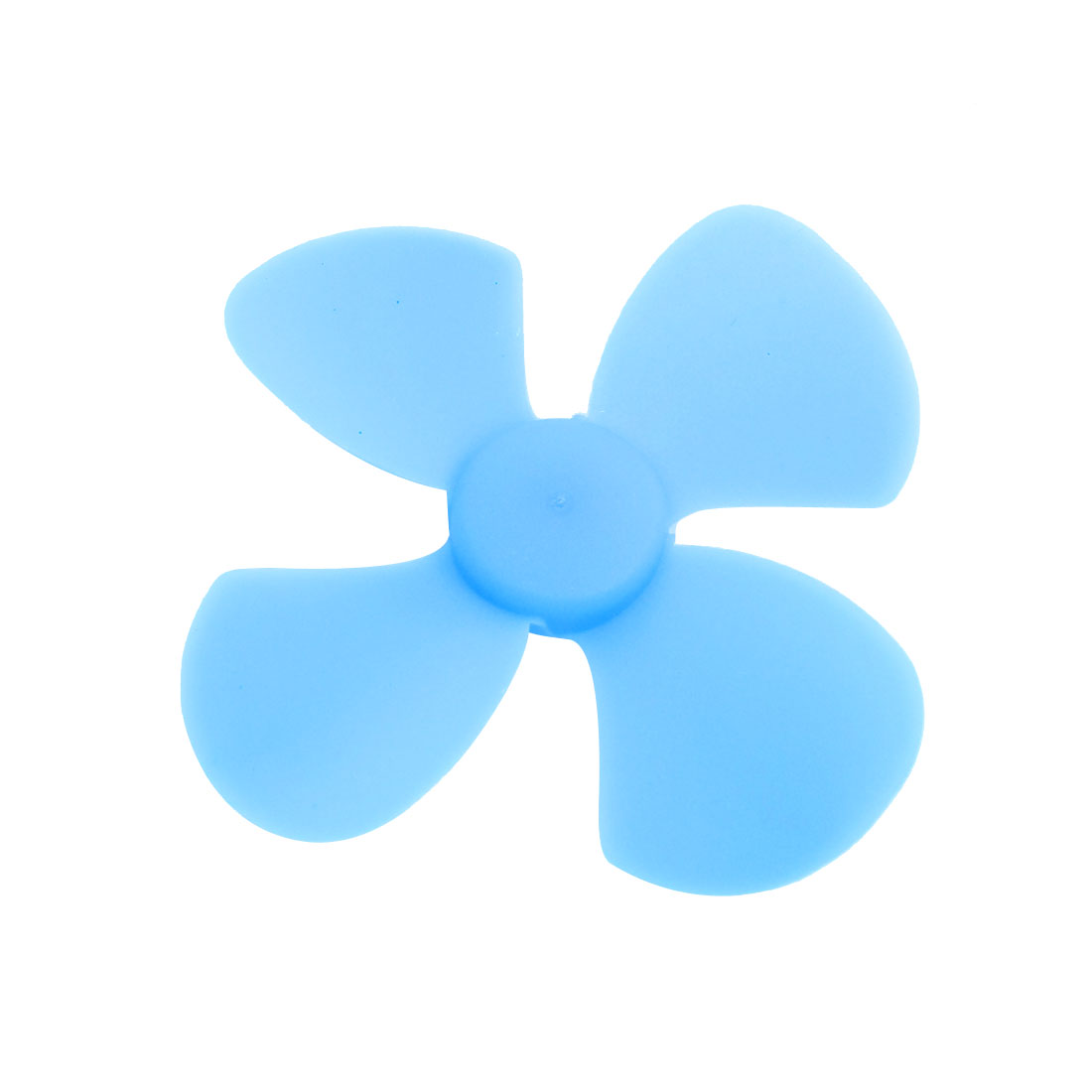 Fan Style Brushless Motor 4 Vanes DIY RC Boat Airplane Propeller Blue