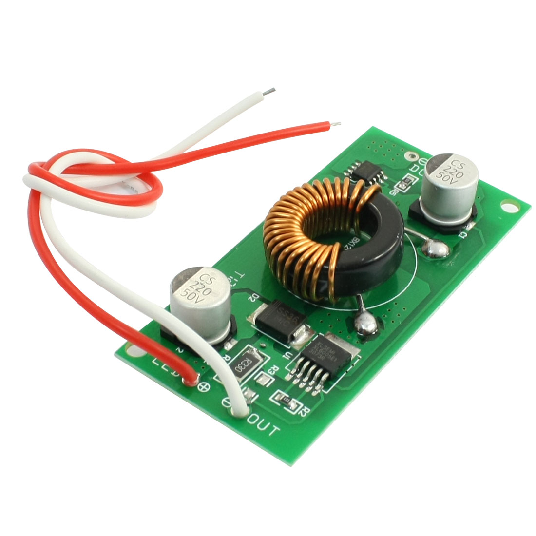 Power Supply Driver Adapter Board for DC 22-40V LED Strip Light