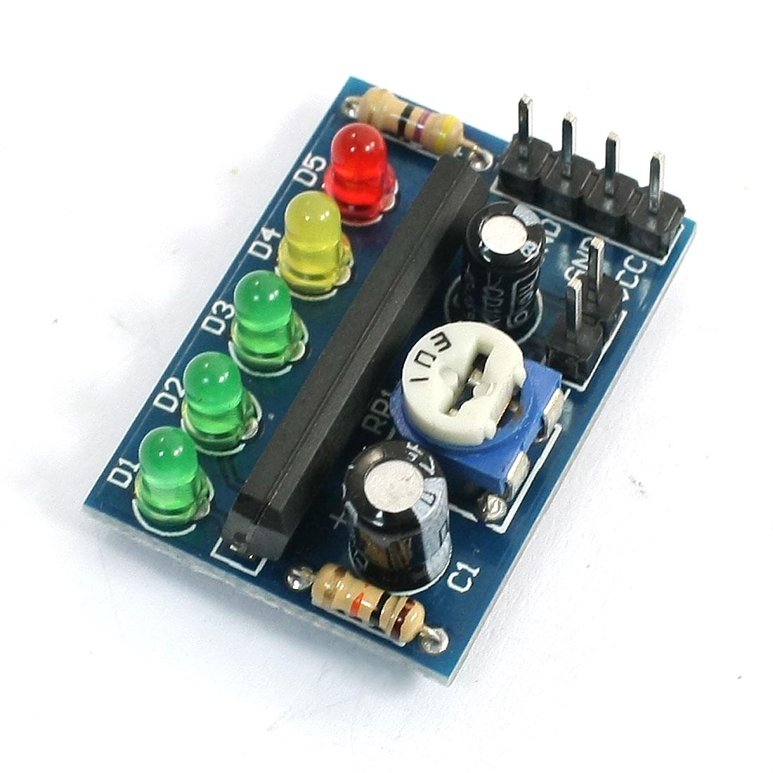 KA2284 Audio Power Level Indicator Indicating Module Board 3.5V-12V