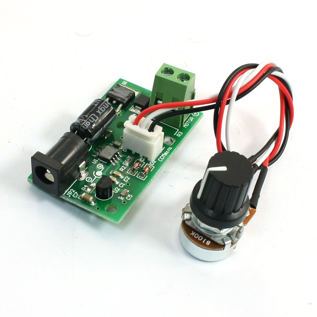 6/12/24V Pulse Width Modulation PWM DC Motor Speed Control Governor
