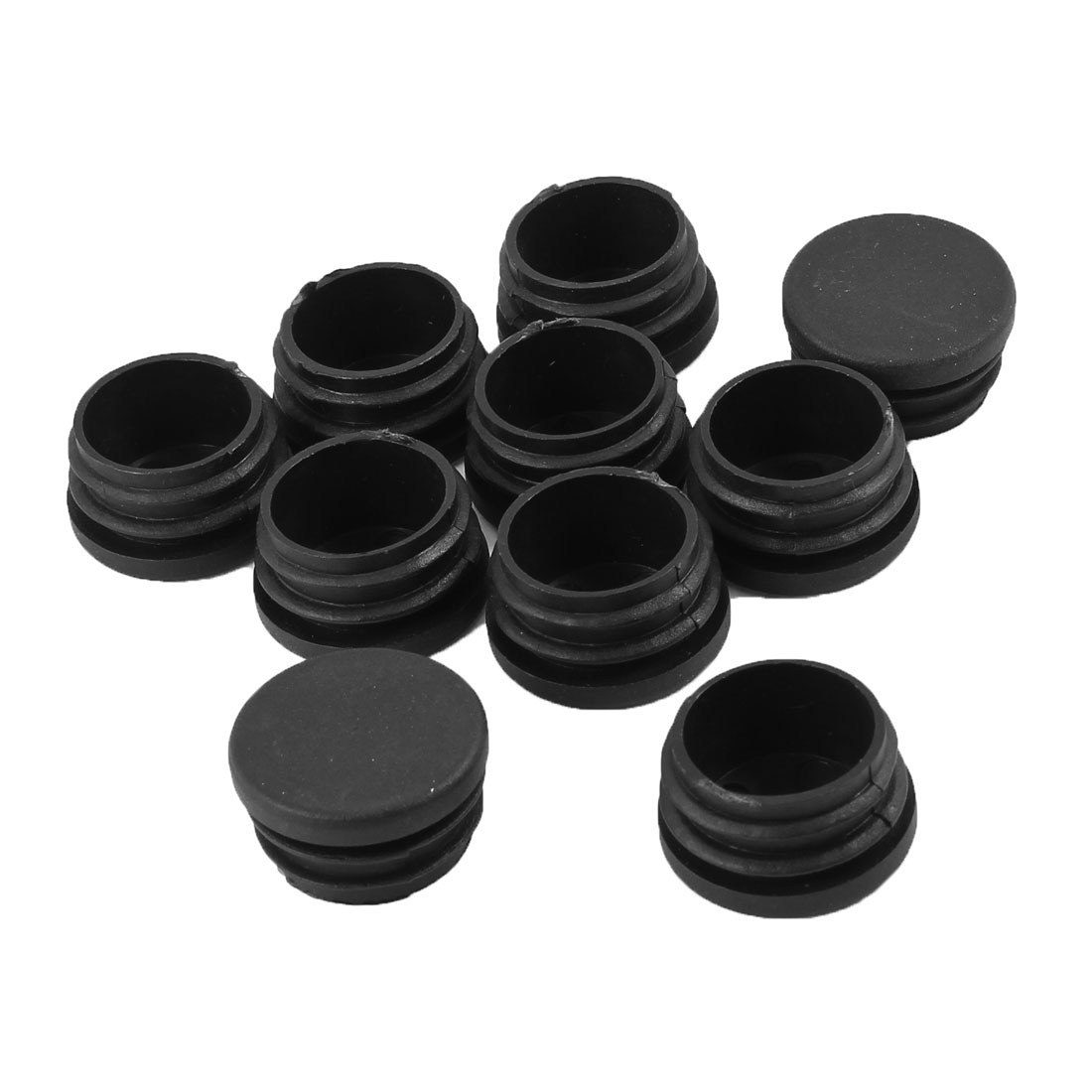Tubing Edges Cover Cap Blanking End Cover Round Tube Insert 10 pcs