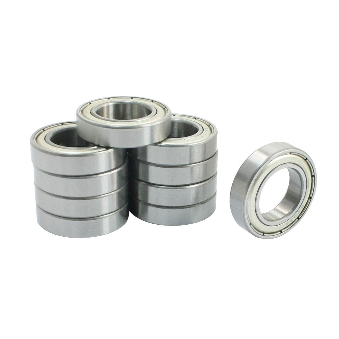 6903Z 17x30x7mm Metal Sealed Deep Groove Radial Ball Bearings 10 Pcs