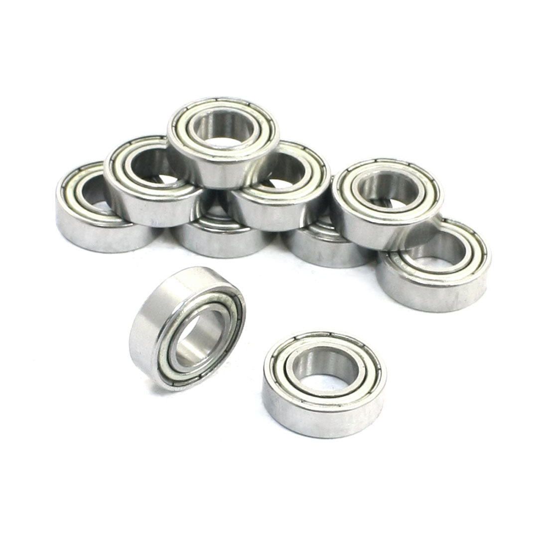 10 Pcs 688Z Metal Sealed Deep Groove Radial Ball Bearings 8 x 16 x 5mm