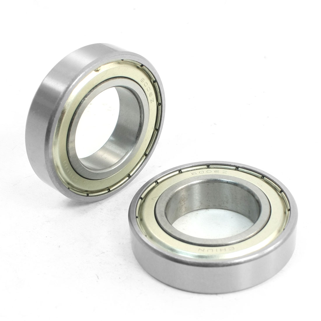 6006Z 30mm x 55mm x 13mm One Row Sealed Deep Groove Radial Ball Bearings 2 Pcs
