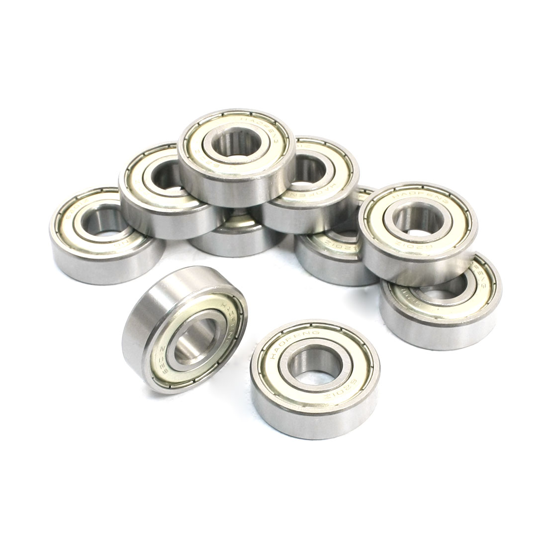 12mm x32mm x 10mm Shielded Deep Groove Radial Ball Bearings 6201ZZ 10 Pcs