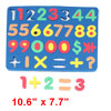 Yale Blue Foam Numeral Intellect Education Magnetic Jigsaw Puzzle for Kid
