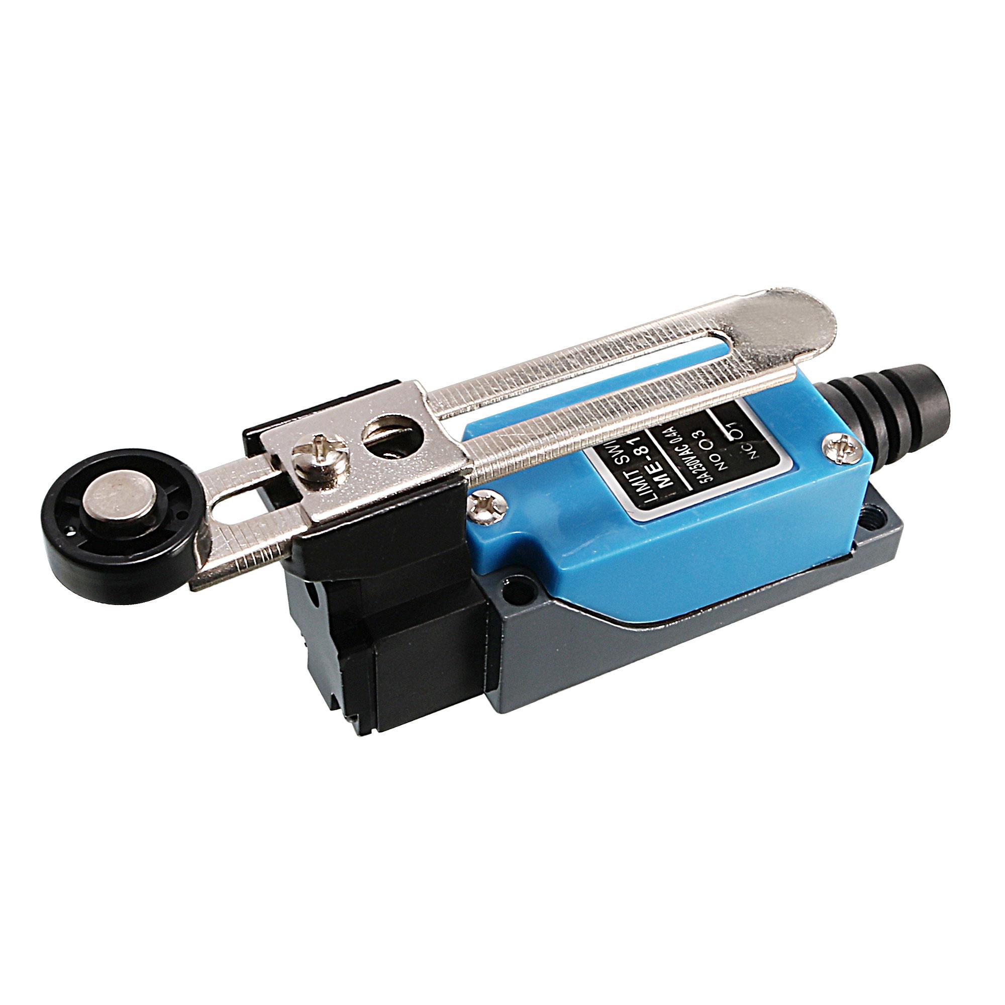 Metallic Roller Arm Type AC Limit Switch for CNC Mill Plasma ME-8108