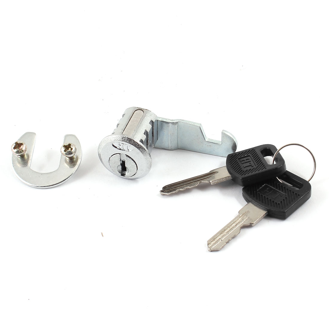 Garderobe Cabinet Security Locking Cylinder Cam Lock w 2 Keys