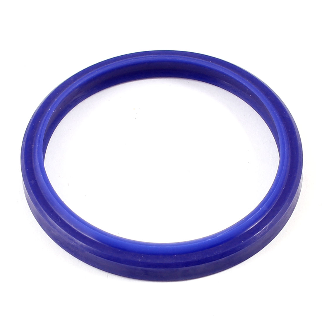 58mm x 50mm x 4mm Hydraulic Piston Rod Oilseal Oil Rubber Seal Blue
