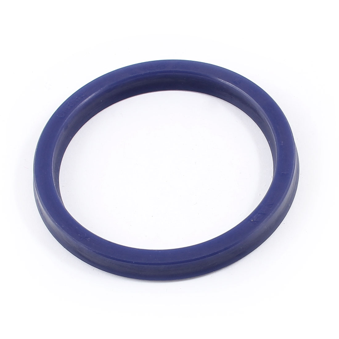 Blue 65mm x 53mm x 6mm Grooving Rubber O Ring Skeleton Oil Seal Gasket