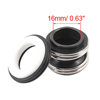 16mm Dia Rubber Bellows Water Pump Sealing Shaft Mechanical Seal