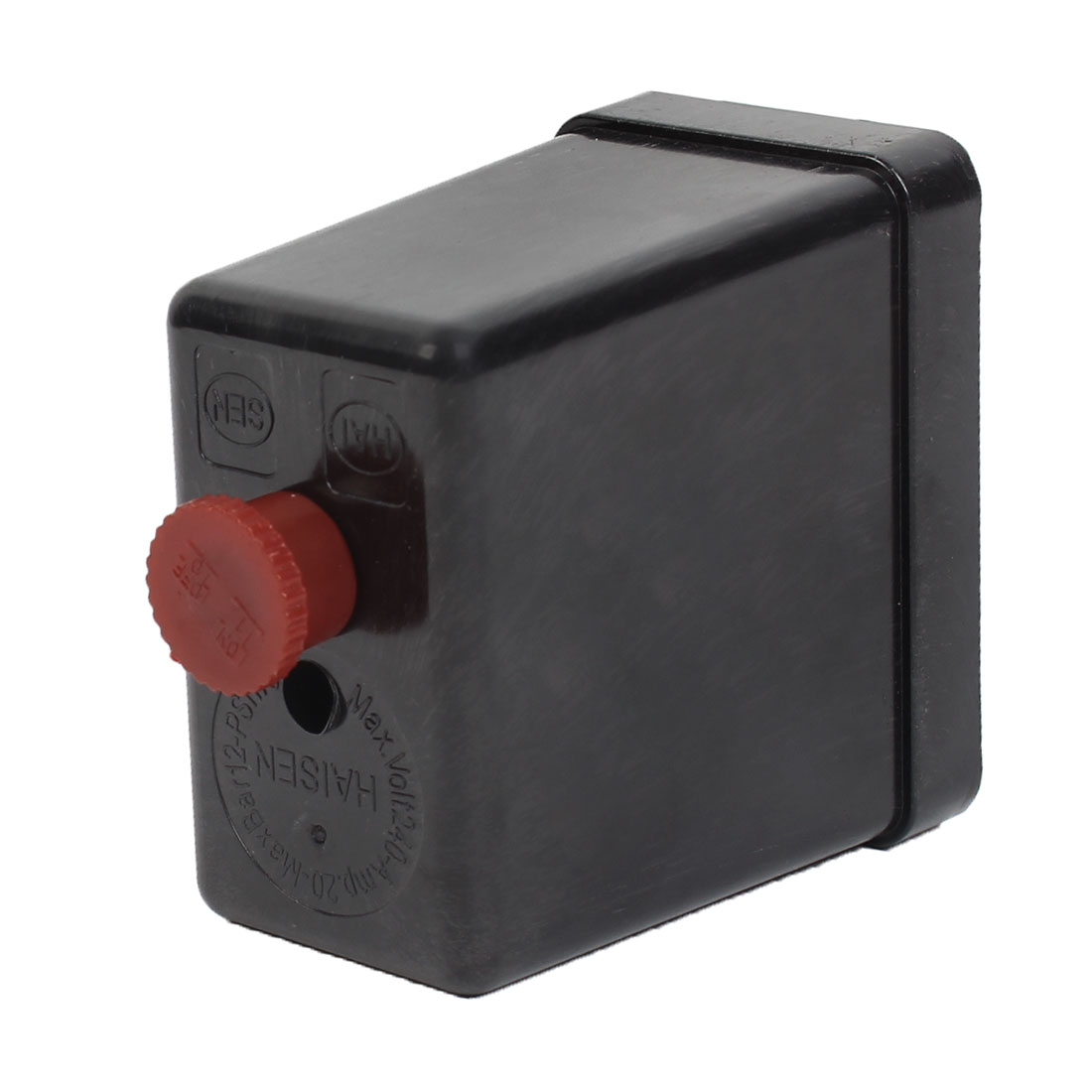 240V 20A 175PSI Air Compressor Pressure Control Switch Valve Plastic Shell