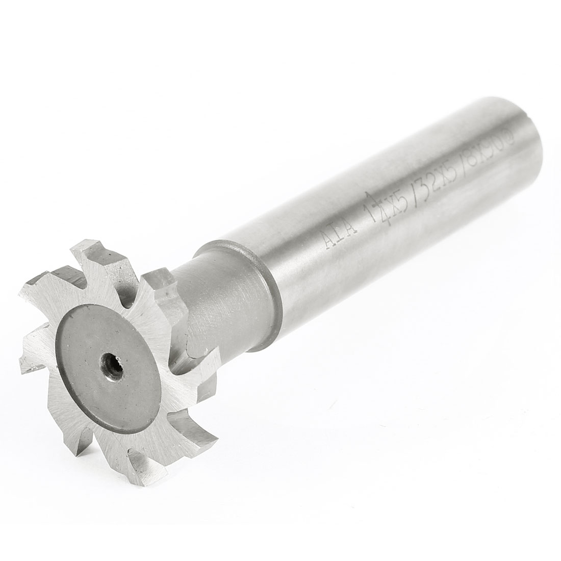 Hardware Milling Cutter 4mm Depth 32mm Cutting Dia 8 Flutes HSS T Slot End Mill