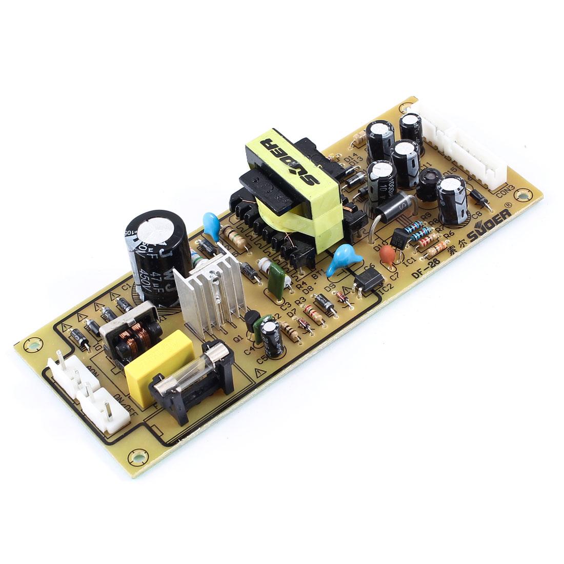 Spare Part Universal DVD Players Power Supply Board 5V/1.1A 12V/100mA