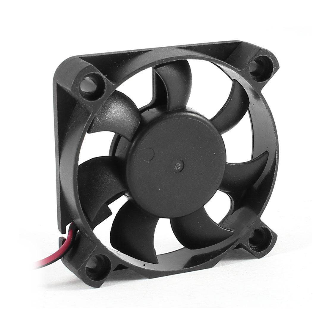 50mmx10mm 2 Pole DC Brushless 0.12A CPU Cooler Cooling Fan Black