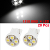 White T10 194 168 W5W 1210 SMD 4 LEDs Bulbs Interior Side Wedge Light 20PCS